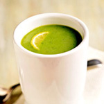 Chilled Lemony Pea Soup Recipe